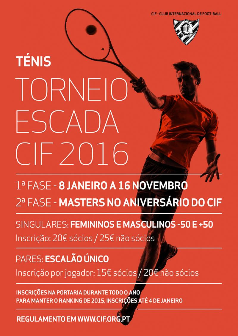 Ténis no CIF  Torneio Escada 2015 dd56abf5fe0c6